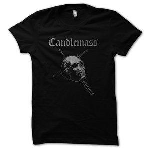 Candlemass - T-shirt, Silver Skull